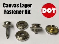 DOT Long Screw Gypsy Stud Socket & Cap Fastener Set Boat Canvas Canopy Cover